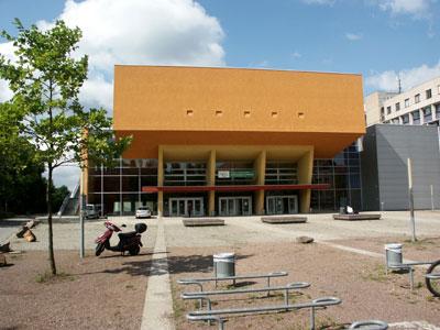 Bild: Eingangsbereich TU Chemnitz