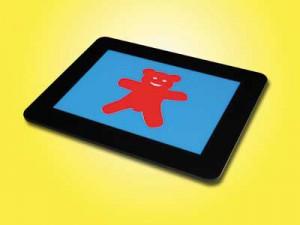 Bild: Fluoreszierender Bär auf LiteScout-Basic