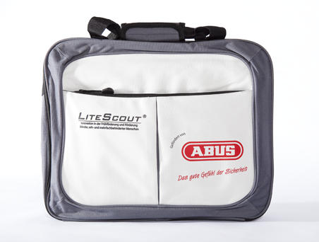 Bag sponsored by ABUS