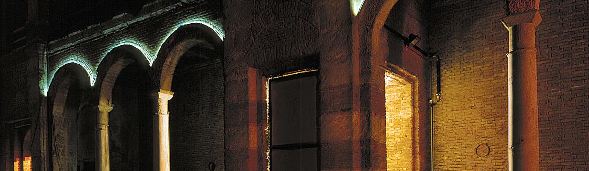 Lichtinstallation in Heiligen Geist Kirche München
