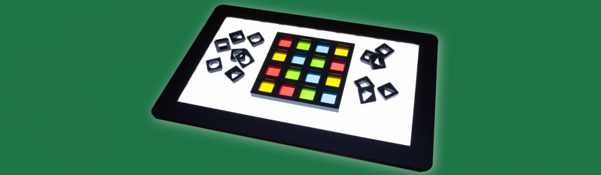 Neues Lernspiel B.4N mit Farbfilter und Matrizen